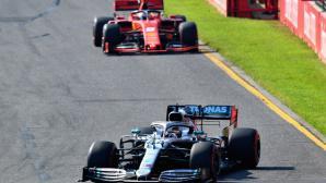 Мерцедес ще проучват аеродинамиката на Ферари