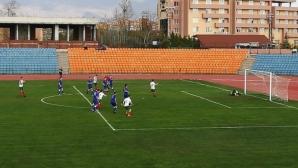 Юношите до 16 разбиха Молдова