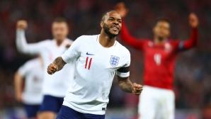 Англия - Чехия 1:0