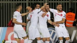 Турция започна с ценен успех като гост над Албания