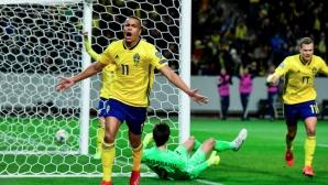 Кешерю се включи ударно, но това не спаси Румъния срещу Швеция (видео)