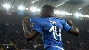 Мойс Кийн: Уча се от Роналдо