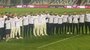 Националите с трогателен жест в подкрепа на Ивайло Чочев (снимки)