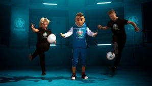 УЕФА представи талисмана на Евро 2020