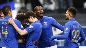 Франция - Исландия 0:0 (гледайте на живо)