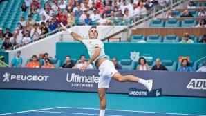 Федерер направи нова крачка към титлата в Маями