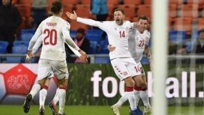 Зрелище в Базел остави Швейцария само с точка от мача срещу Дания