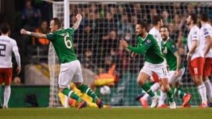 Втори пестелив успех за Ирландия в евроквалификациите