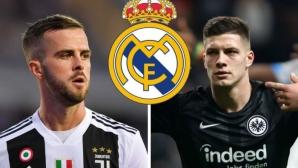 Реал Мадрид опипва почвата за Пянич и Йович