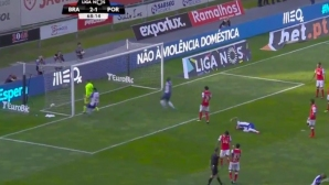 Вижте какво му се случи на този футболист (видео)