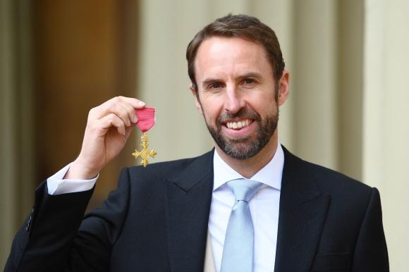 Гарет Саутгейт получи Орден на британската империя