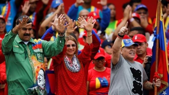 Глобиха Марадона заради посветена победа на президента на Венецуела