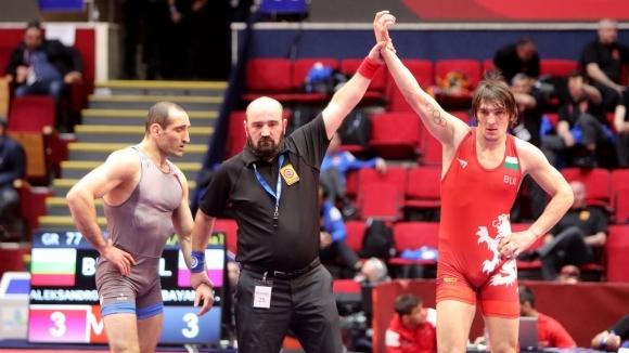 Даниел Александров ще спори за бронза в категория до 77 кг на класическия стил