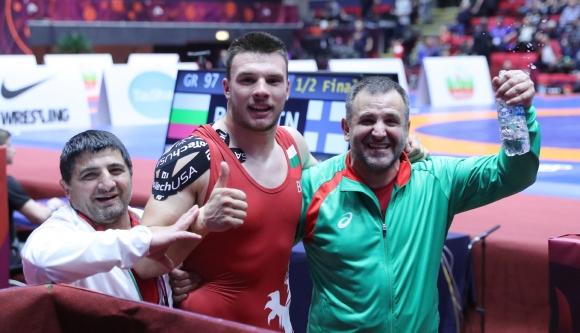Кирил Милов спечели сребро на Европейското по борба