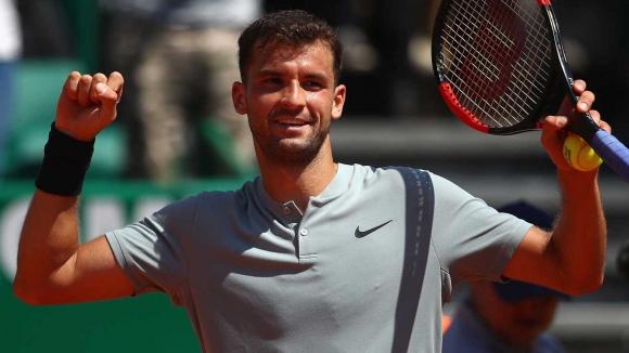 739dae50d16 Най-добрият ни тенисист Григор Димитров надви със 7:5, 6:4 италианеца Матео  Беретини в мач от .