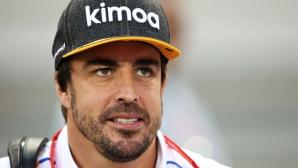 Алонсо очаква труден Инди 500 след теста в Тексас