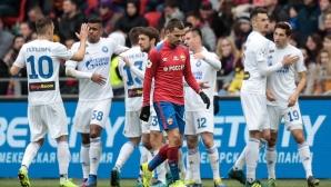 Оренбург наказа ЦСКА в Москва в трилър с червен картон и гол от центъра (видео)
