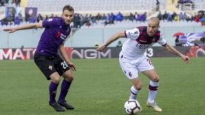 Монтела ознаменува повторния си дебют за Фиорентина с равенство