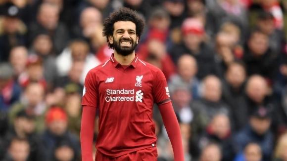 Салах вярва, че още четири победи ще гарантират титлата на Ливърпул