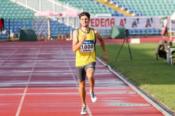 Мартин Проданов с историческо бягане на 800 метра