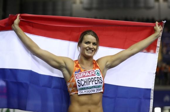 Схипърс тренира на високи обороти за трета поредна световна титла на 200 метра