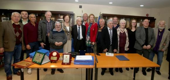 Десетки олимпийски шампиони и медалисти почетоха Христо Меранзов