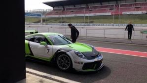 """Снежен уикенд за Overdrive Racing във VLN2 на """"Нюрбургринг"""""""