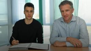 Илия Груев-младши подписа професионален договор с Вердер