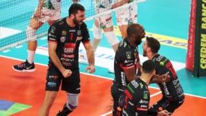 Цецо Соколов: Въпреки грешката ми при първия мачбол, спечелихме и само това е от значение (видео)