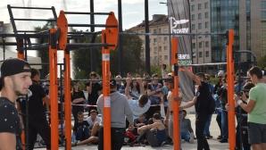 Уникално ърбан шоу в неделя пред Паметника на съветската армия