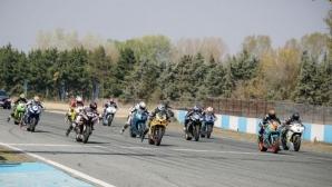 Сериозна битка на пистата в Серес през уикенда