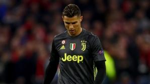 В Италия: Кристиано Роналдо няма да изпълни договора си с Ювентус