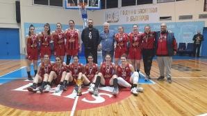 Локомотив Стара Загора спечели бронзовите медали в женското баскетболно първенство