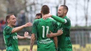 Хебър посвети успех на Петър Ковачев