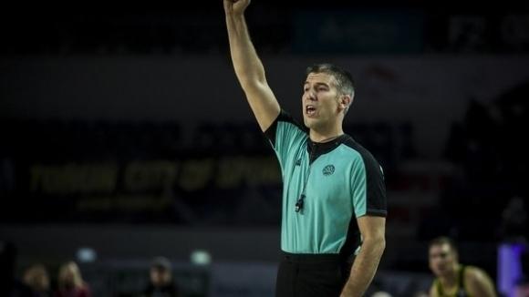 Мартин Хорозов ще ръководи мачове от СП по баскетбол в Китай