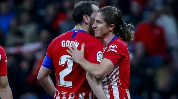 Диего Годин и Филипе Луис напускат Атлетико след края на сезона