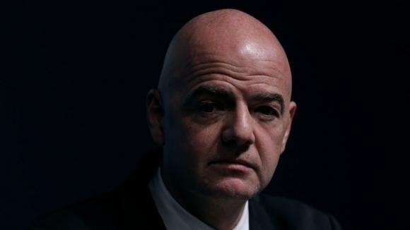 Инфантино със съболезнователен адрес по повод кончината на Красимир Безински