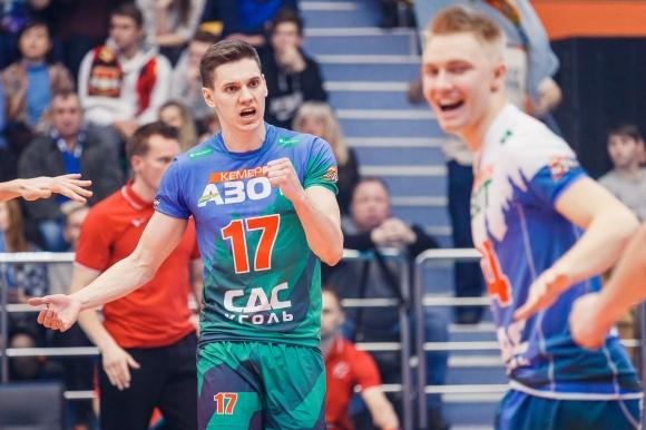 Кузбас се класира на исторически финал в Русия! Виктор Полетаев заби 8 аса (снимки)