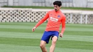 Атлетико ще може да разчита на Стефан Савич срещу Валенсия