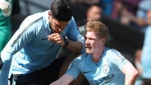 Де Бройне аут за мачовете до края на сезона в Премиър лийг, но може да играе във финала