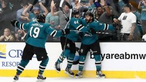 Сан Хосе навакса 3 гола пасив и отстрани Лас Вегас от плейофите в НХЛ