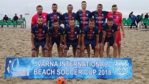 Варна приема за трети път силен международен турнир по плажен футбол