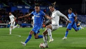 Хетафе - Реал Мадрид 0:0, Бензема пропусна няколко възможности