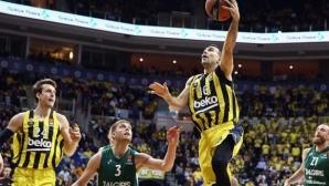 Фенербахче се класира за финалната четворка в Евролигата по баскетбол за мъже