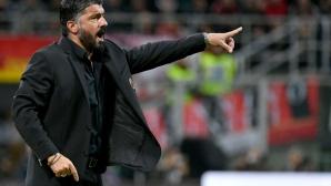 """Гатузо """"гори"""" при нова загуба, сменя го един от голмайсторите при 6:0 над Интер"""