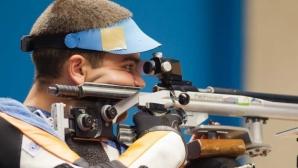 Антон Ризов в първите 50 на 10 метра пушка