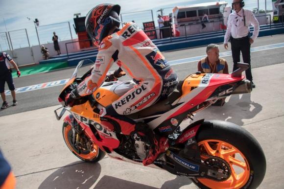 Honda са оправили проблема с веригата в MotoGP