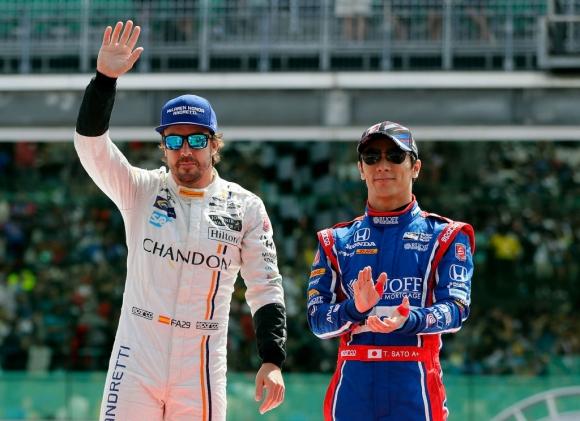 Алонсо се изправя срещу седем бивши победители на Инди 500