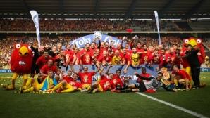 Втородивизионният Мехелен спечели Купата на Белгия (видео)