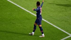 ПСЖ пропусна дузпа в последната минута и не успя да победи Ница